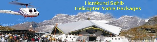 Hemkund Sahib Helicopter Packages, Hemkund Helicopter Services